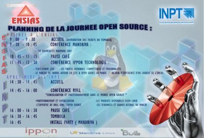 Affiche de L'Open Source Day